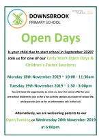 EYFS / Reception Open Days